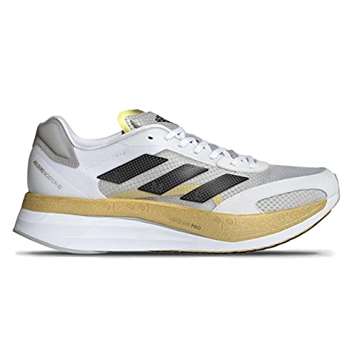 ADIDAS Boston Boost 10 TME Zapatillas de Carretera para Hombre Blanco Gris Oro 41 1/3 EU