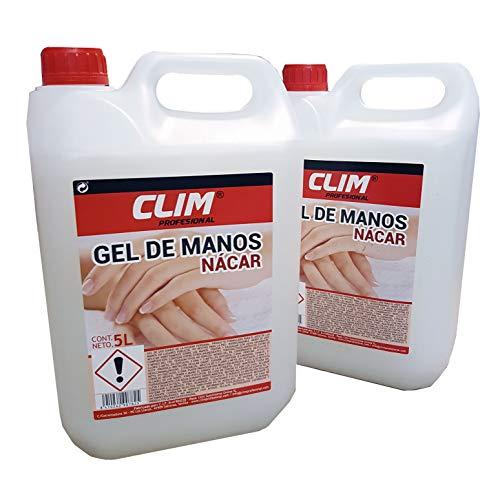 Climprofesional. Jabón de manos dermo con aroma neutro y aspecto nácar. Caja...