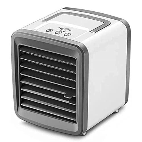 KMDJ Portable Air Conditioner Portatile del condizionatore d'Aria Ventilatore USB Carica Mini Air Cooler Adatto for l'Home Office
