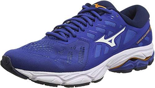 Mizuno Wave Ultima 11, Zapatillas de Running Hombre, Azul (Blue/Wht/Dress Blue 08), 43 EU