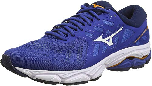 Mizuno Herren Wave Ultima 11 Laufschuhe, Blau (Blue/Wht/Dress Blues 08), 46 EU