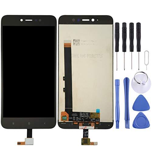 DONG Recambios para el teléfono móvil Xiaomi Redmi Note 5A Pro/Prime Pantalla LCD Asamblea de digitalizador de Pantalla táctil (Color : Black)