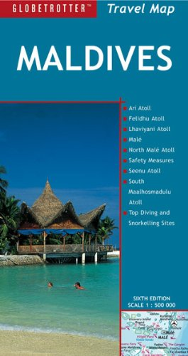 Maldives (Globetrotter Travel Map)