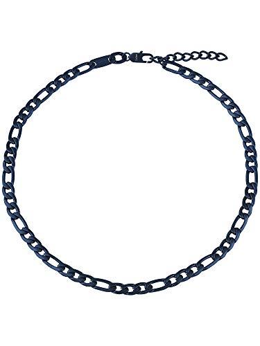 Gioiello BREIL collezione RANGE JEWELS, COLLANA da UOMO in ACCIAIO colore BLU misura 52CM - TJ2879