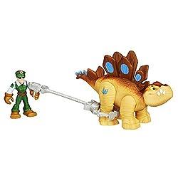 6. Playskool Heroes Jurassic World Tracker Stegosaurus Figure