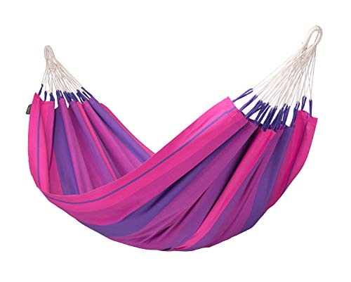 LA SIESTA Orquídea Purple - Hamac classique simple en coton