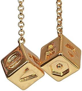 Cos ハン・ソロ ダイス サイコロ ゴールデン 銅 約1.5CM サイコロサイズ 高級品 良く出来栄え 飾り物 グッズ Han Solo ラッキーダイス 銅合金 ペンダント アクセサリー ハロウィン Cosplay コレクション プレゼントにもふさわしい