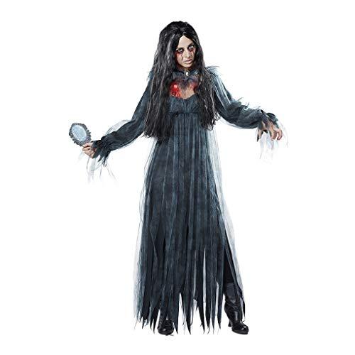 Mujeres Cosplay Disfraz De Halloween Horror Ghost Dead Corpse Zombie Vestido De...