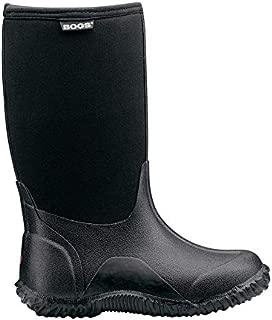 Bogs Kids' Classic Black Insulated Rain Boots & Drying Towel Bundle
