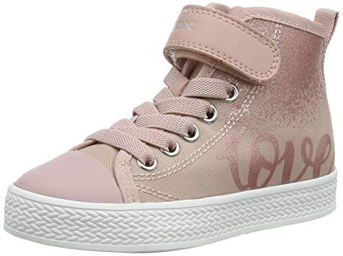 Geox JR CIAK Girl A Sneaker, Rose, 38 EU