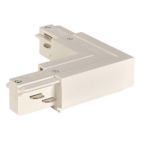 SLV L-verbonden indoorlamp kunststof witte lamp binnen, binnenlamp