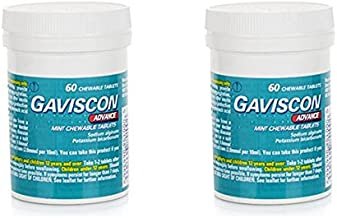 Gaviscon Advance Chewable Tablets Mint - Pack of 2