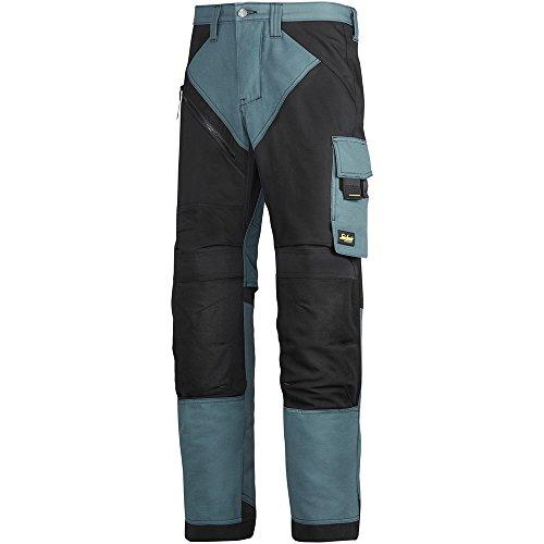 Heavy Duty Pantaloni Lavoro con Knee Pad Tasche 6303 SNICKERS ruffwork