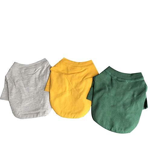 Pet Kleidung, Hundekleidung, kleiner Hund einfachen Mantel, sind Haustiere geeignet für Bären kleiner Teddy, grundiert Shirts, Doppelschnallen, Baumwollkleidung, Hundekleidung, Haustierkleidung-yell