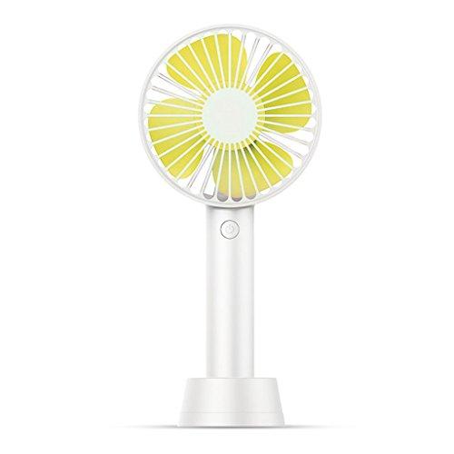 Mjd Fan Hand-USB-ventilator, oplaadbaar, draagbare student-slaapzaal, grote wind-stille bureau-minifan, binnen- en buitenluchtkoeler