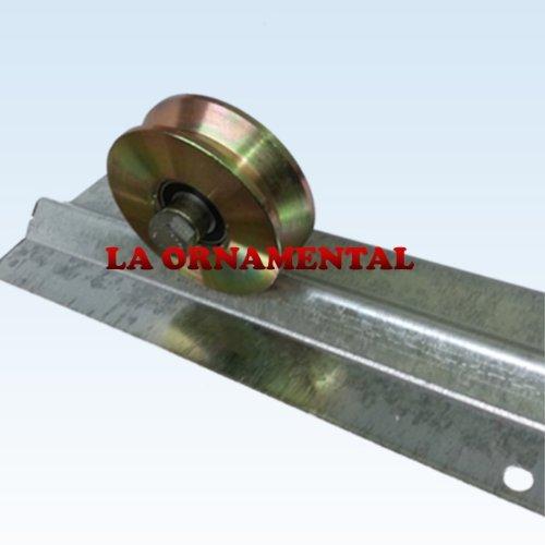 3' Single Bearing V Groove Wheel (NO BRACKET) for Gates Inverted V Track Wheel for...