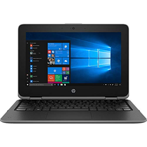 HP ProBook x360 11 G3 EE 11.6' 2-in-1 HD Touchscreen Laptop Business Education Laptop (Intel N4000 Dual-Core, 4GB DDR4 RAM, 64GB eMMC, UHD 600) Type-C, HDMI, Bluetooth 5.0, RJ-45, Windows10 Pro