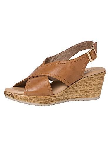 Jana Femmes Sandale à Talon 8-8-28331-34 305 Largeur G Taille: 37 EU