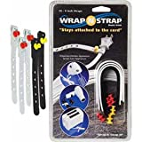 Wrap N Strap 906 6inch Adjustable Cord & Cable Straps/Fasteners 5 pack-by-Wrap N Strap