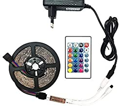 RGB led Strip Light 5M 10M 15M 20M 2835 SMD Waterproof led Light IP20 IP65 Flexible LED Strip Adapter Touch Remote RGB Ful...