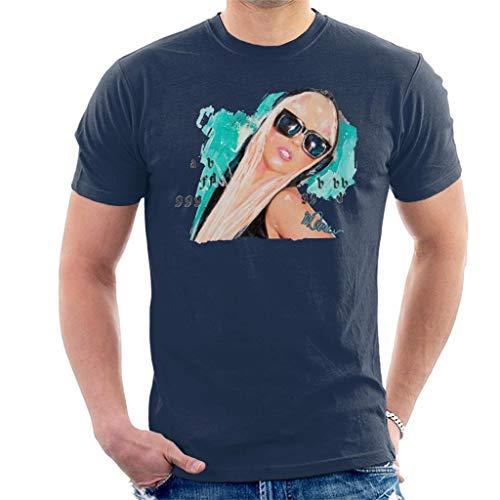 VINTRO Lady Gaga Shades - Camiseta para hombre, diseño de retrato original de Sidney Maurer