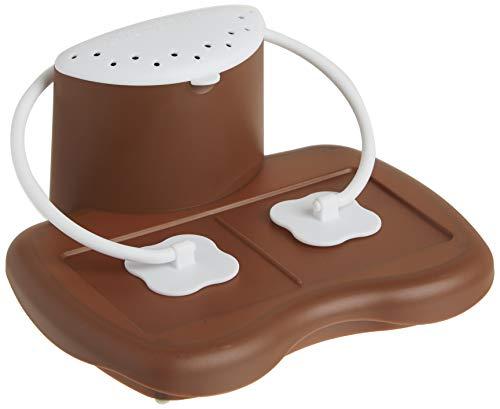 Progressive Prep Solutions Microwave S'mores Maker, Brown/White