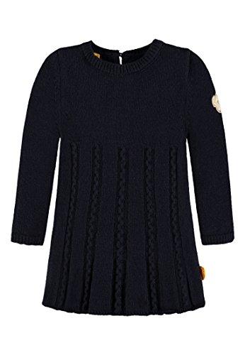 Steiff Mädchen 1/1 Arm Strick Kleid, Blau (Marine 3032), 80