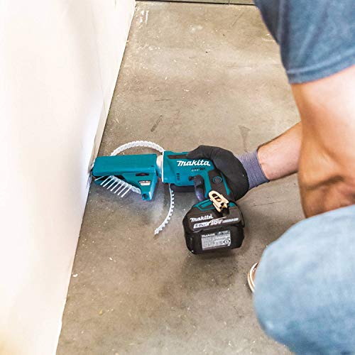 Makita XSF03TX2 18V LXT Lithium-Ion Brushless Cordless 4, 000 Rpm Drywall Screwdriver Kit, with Autofeed Magazine (5.0Ah)