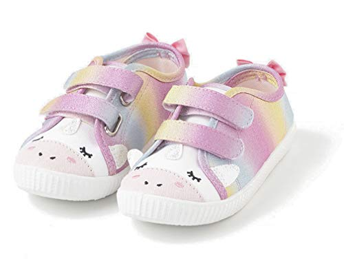 TEX - Zapatillas De Lona Animales para Niña, Multicolor, 23 EU