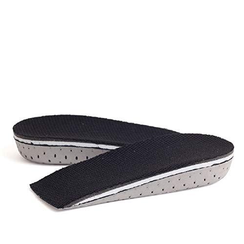 Ducomi Plantillas Elevadoras Hombre y Mujer - Plantilla Elevadora Acolchadas para Zapatos Amortiguadoras, Cómodas, Antibacteriana y Flexibles - Hasta 2,3 cm Mas de Altura - Unisex