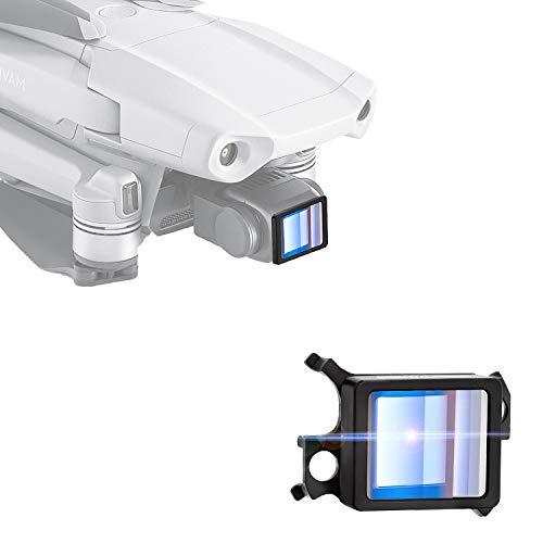 USKEYVISION DJI Mavic Air2ドローン専用アナモルフィックレンズ 1.33Xアナモフィック外付けHD 超広角レンズ ドローンアクセサリー国内正規品、1年間保証付き (UVAL-Air2)