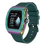 ZXQZ Watches Smart Watch für Android IOS, Fitness Tracker mit Schrittzähler, Erinnerung An Anrufnachrichten, Sleep Tracker, IP68 wasserdichte Voll-Touchscreen-Uhren für Männer Frauen Uhren