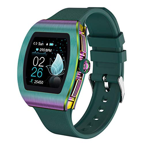 Relojes de pulsera Reloj Inteligente para Android IOS, Monitor De Actividad Física con Podómetro, Recordatorio de Mensajes de Llamada, Monitor de Sueño, Relojes de Pantalla Completamente Táctil A Prue