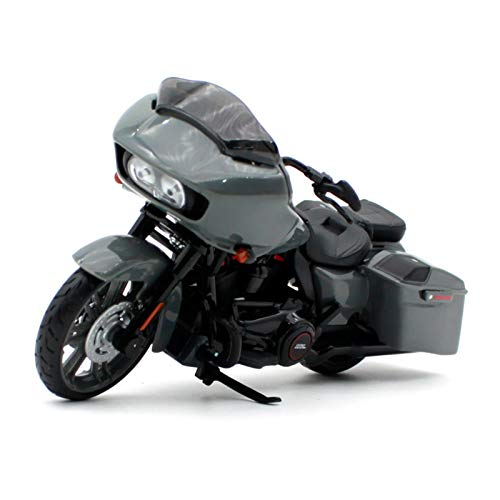 DSWS Motocicleta Miniatura 1:18 para CVO Road Glide Cruise Motorcycle Diecast Modelo Bike Diecast Model Toy