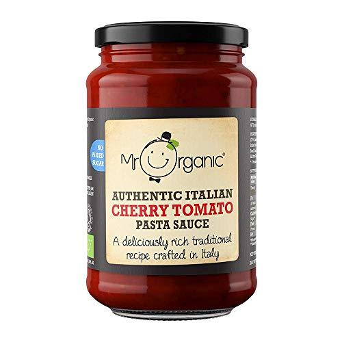 Mr Organic Cherry Tomatoes Pasta Sauce, 350 g