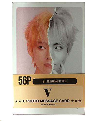 BTS V Solo Photocards 56pcs