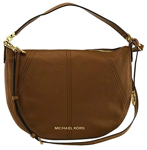 Michael Kors Bedford Medium Convertible Leather Shoulder/Crossbody Bag - Luggage