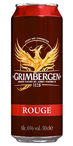 Grimbergen Rouge 50cl (lot de 48 canettes)