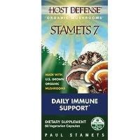 Fungi Perfecti Host Defense Stamets 7, 60 Count by Fungi Perfecti [並行輸入品]