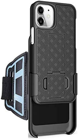 Sports Armband wristband Case for Apple iPhone 12 mini 5 4inch hybrid Hard Case cover with sport product image