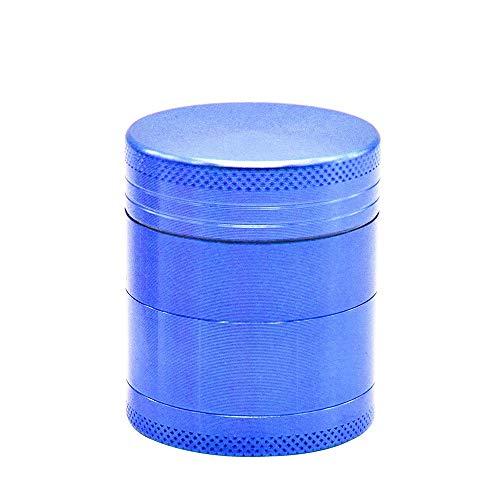 HDGAE Metalen 4-delige slijpmachine zinklegering slijpen specerijen koffiebonen zout magnetische afdekking afneembaar draagbare gebruikte hoofdkeuken 40 mm