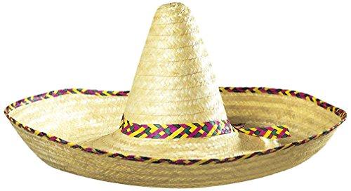 Widmann Großer Sombrero verzierter mexikanischer Hüte und Kopfbedeckung, 65 cm