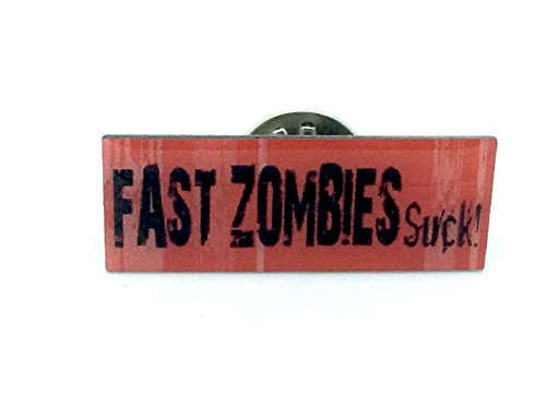 Fast Zombies Suck Cosplay Metal Pin Badge
