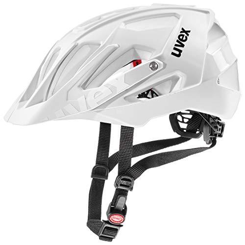 uvex Unisex– Erwachsene, quatro Fahrradhelm, white mat, 56-61 cm