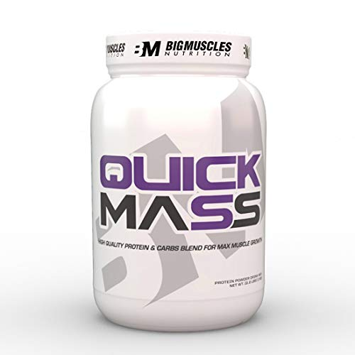 Bigmuscles Nutrition Quick Mass 2.2lbs (Strawberry)