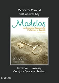 Writer's Manual (with Answer Key) for Modelos: An Integrated Approach for Proficiency in Spanish
