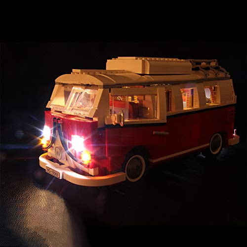 LED Beleuchtungsset für Lego 10220 - VW T1 Campingbus, Beleuchtung Licht Kompatibel mit Lego 10220 (Lego-Modell Nicht Enthalten)