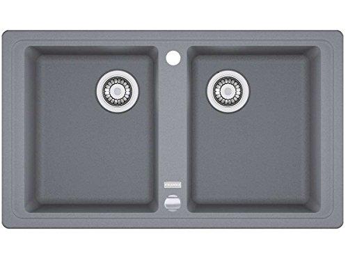 Franke Basis BFG 620 Steingrau Granitspüle Spültisch Doppelbecken Küchenspüle