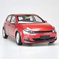 車のモデル 1:18に適用するゴルフ7合金合金ダイカスト金属車シミュレーションミニモデル車のおもちゃ子供の誕生日プレゼントのおもちゃコレクション (Color : 1)