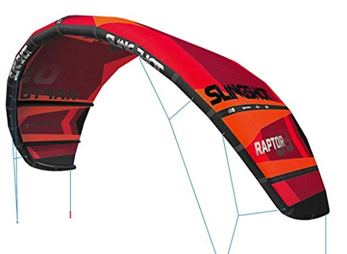 SLINGSHOT Sports Raptor V1 Kite 9m 2020 Model, 120130009 (9 METER)